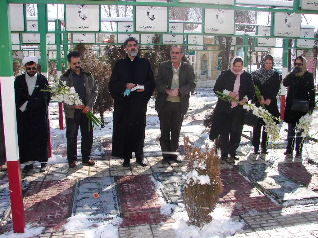 Iranians pay tribute to Armenians martyred in the Iran-Iraq war