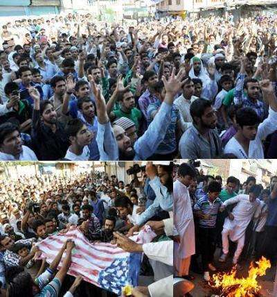 Protests Against Anti-Islam Film Rock Kashmir