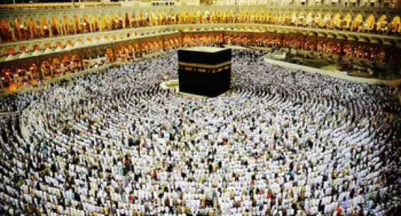 Over One Million Pilgrims in Mecca Do the Rituals