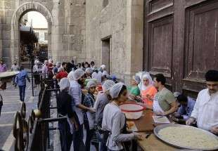 Iftar Provided for needy people in Syria