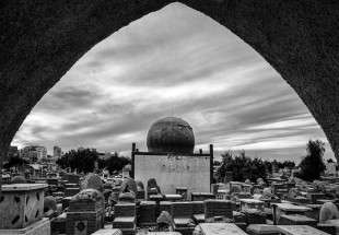 Wadi-al-Salam (the valley of peace), world's biggest cemetery in Najaf, Iraq (photo)