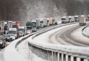 Snowy weather hits Germany (Photo)