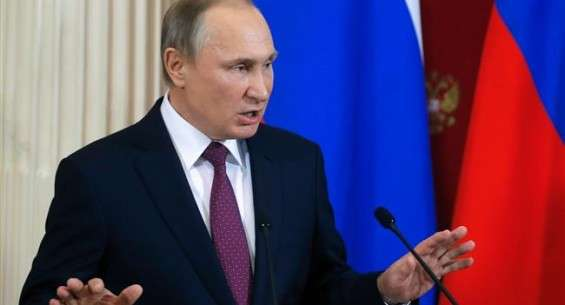 Putin rebukes those behind fake reports on Trump