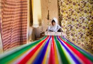 Iranian village of warp and weft (photo)