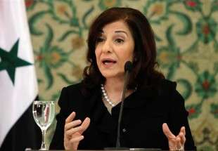 Syrian President Bashar al-Assad's political and media adviser, Bouthaina Shaaban
