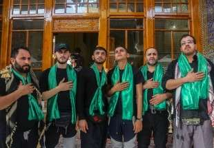 Arba'een pilgrims arrive in holy shrine of Imam Ali (AS), Najaf (photo)