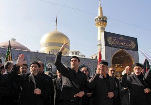 Mourning ceremonies for passing anniversary of Prophet Mohammad (PBUH), Imam Hassan (AS) in Qom, Mashahd (photo)