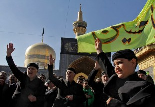 Mourners in Mashhad, Qom to mark martyrdom anniversary of Imam Reza (Photo)