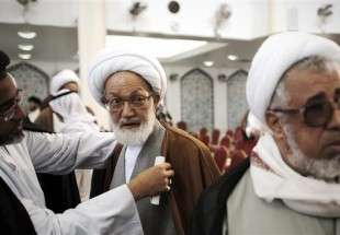 Iran urges lifting siege on top Bahraini cleric's house