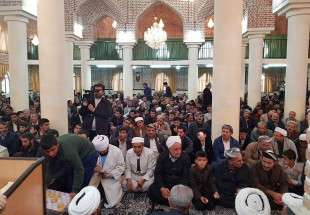 Top Shia cleric attends Sunni ceremonies for Islamic Unity Week (photo)