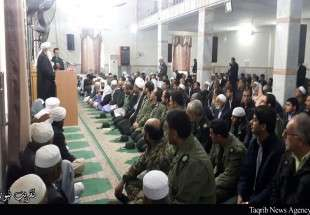 Friday Prayer held by Sunni worshipers Reza Abad (Located in Golestan Province)