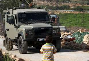 Palestinian child struck by army vehicle in West Bank