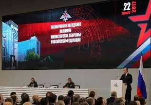 Russia must have best forces to counter aggressive schemes: Putin