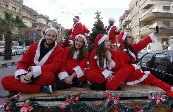 Iraqi, Syrian Christians mark Christmas after 7 years (photo)