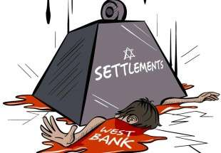 New Israeli settlement plans and fate of Palestinian lands in the West Bank (cartoon)