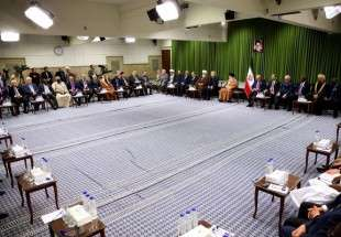 Supreme Leader admits participants to 13th meeting of Parliamentary Union of OIC member states (photo)
