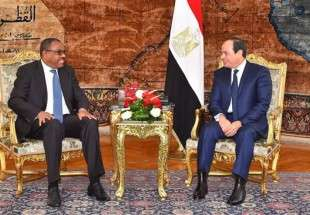Egyptian President Abdel Fattah el-Sisi (R) meets with Ethiopian Prime Minister Hailemariam Desalegn at the Presidential Palace in the capital, Cairo, January 18, 2018. (Photo by AFP)