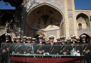 Iranians hold ceremony to pay tribute to 32 victims of oil tanker which collided off Shanghai, China, in the capital Tehran.