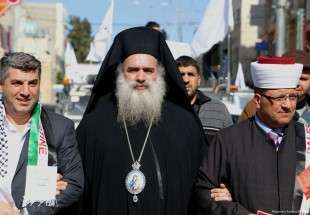 Greek Orthodox Archbishop says all conspiracies against Jerusalem will fail