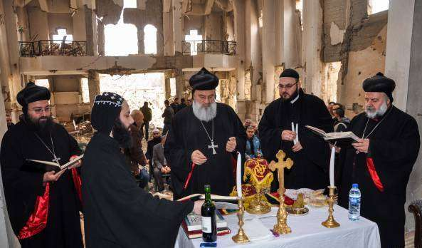 Syrians hold first communion in five years (photo)