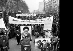 1979 demos in Tehran supporting Imam Khomeini (RA) 2 (photo)