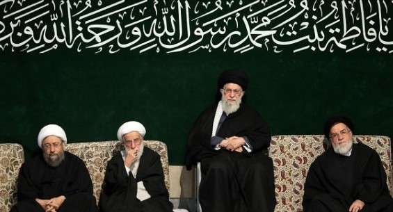 S.Leader attends 1st Fatemieh mourning session