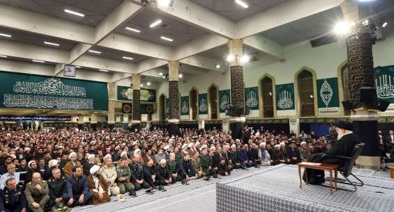 Ayat. Khamenei receives people from Eastern Azerbaijan Province