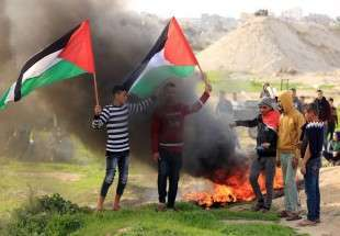 Clashes between Israeli forces and Palestinians (Photo)