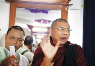 Ultra-nationalist Myanmar monk walks free from prison