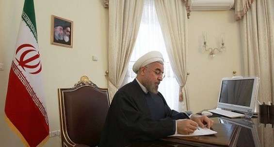 Rouhani felicitates Armenian new Pres. on election