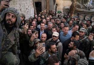 "Presence of Bashar al-Assad in front line of battle (Photo)  <img src=""/images/picture_icon.png"" width=""13"" height=""13"" border=""0"" align=""top"">"