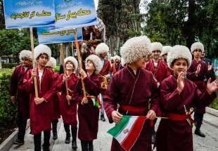 Nowruz Festival Held in Gorgan (Photo)
