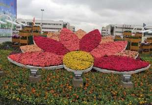 "Engulfed in flowers Mashhad embraces Nowrouz visitors (photo)  <img src=""/images/picture_icon.png"" width=""13"" height=""13"" border=""0"" align=""top"">"
