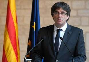 Catalan ex-president calls for release of imprisoned leaders