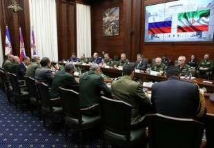 Iran, Belarus, Russia defense mins. meet in Moscow (Photo)