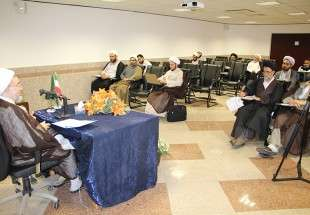 The last teaching session by Ayatollah Araki in Proximity Studies Research Center (photo)