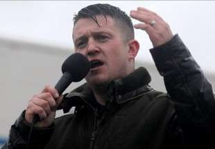 Tommy Robinson, former founder of the English Defence League