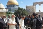 Israeli settlers flounce al-Aqsa Mosque under occupation forces protection