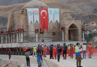 Turkey moves historic building to save it from dam waters
