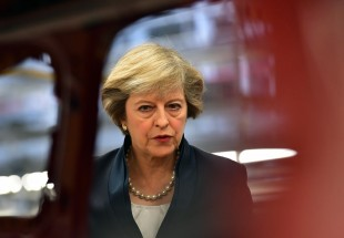 UK's May calls for respect from EU as pond plummets