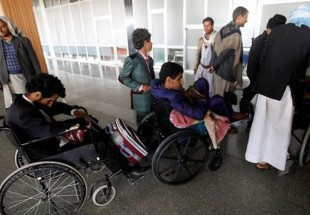 UN plane carries wounded Houthi fighters to Oman