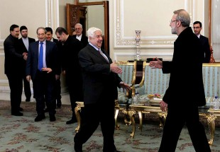 "Syrian Foreign Minister meets Ali Larijani (Photo)  <img src=""/images/picture_icon.png"" width=""13"" height=""13"" border=""0"" align=""top"">"