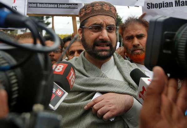Kashmiri cleric declines interrogation in New Delhi