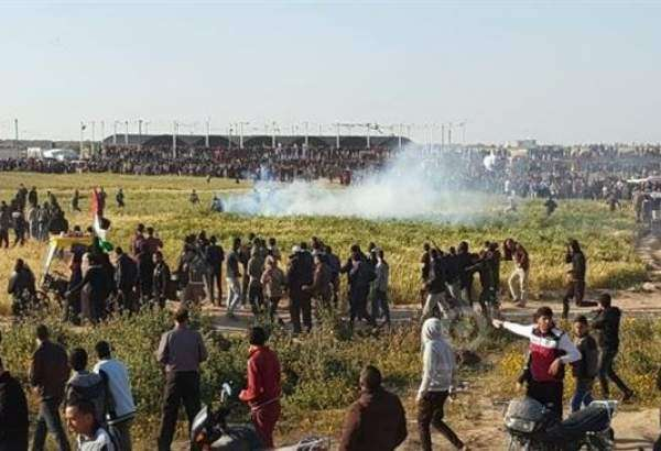 In fresh protest in Gaza, Israelis kill 2 Palestinians