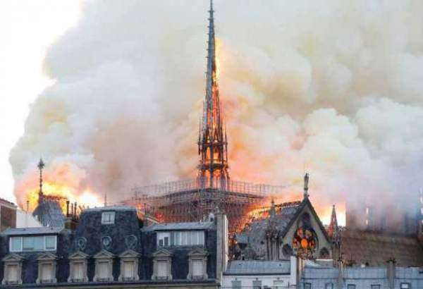 Paris iconic cathedral Notre Dame destroyed by inferno