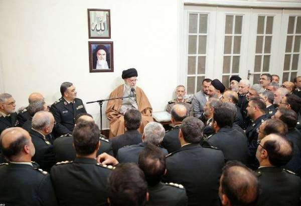 "Supreme Leader recieves a group of commanders of Police Forces  <img src=""/images/picture_icon.png"" width=""13"" height=""13"" border=""0"" align=""top"">"