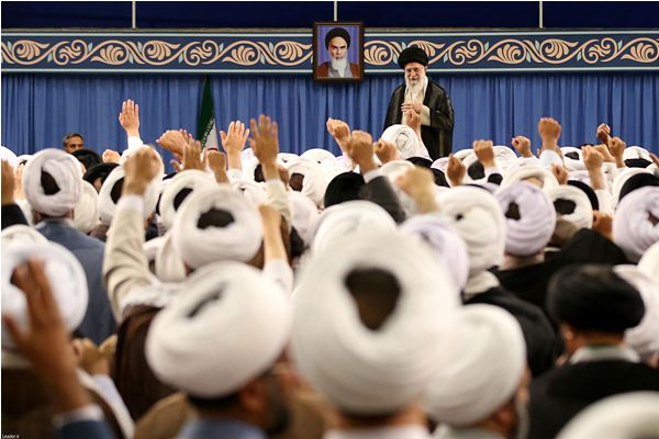 Supreme Leader admits Friday prayer leaders across Iran (photo)