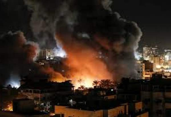 Israel pounding Gaza for an entire hour: Palestinian sources