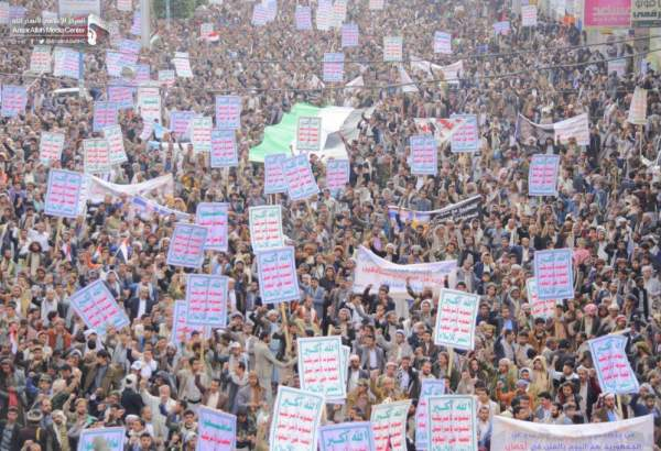 Yemenis rally to voice support for anti-Saudi operation