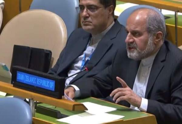 Iran's UN envoy warns of US threats against global trade system